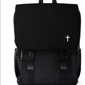 Handbags - Unisex Cross logo backpack